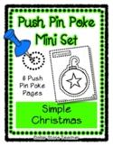 Christmas - Push Pin Poke No Prep Printables - 6 Pictures
