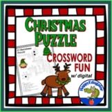 Christmas Crossword Puzzle -  A Fun Holiday Activity