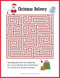 No Prep Christmas Worksheets Puzzle PACKET