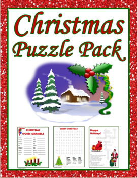 Christmas Puzzle Pack
