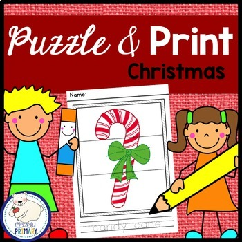 Christmas: Puzzle & Print
