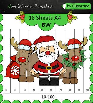 Christmas Puzzles 18 sheets