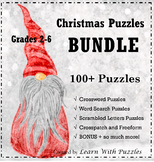 Christmas Puzzles Collection - 100+ UNIQUE Puzzles Bundle