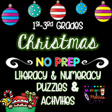 Christmas Puzzles & Activities Pack 1st~3rd Grade