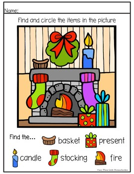 Christmas Puzzles and Games Center Activities
