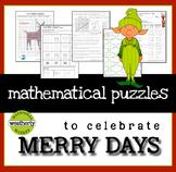 Christmas Math - Algebra