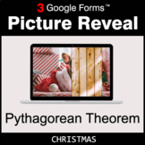 Christmas: Pythagorean Theorem - Google Forms Math Game |