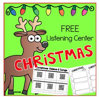 Christmas Q R Code Listening Center