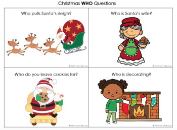 Christmas WH Questions