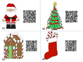 Christmas QR Code Grammar Hunt