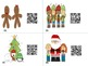 Christmas QR Code Math Hunt (using 3-digit addition with r