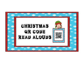 Christmas QR Code Read Alouds Set 1