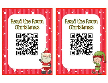 Christmas QR Code - Read the Room