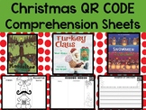 Christmas QR Code With Comprehension Sheets for December