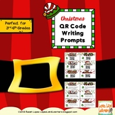 Christmas QR Code Writing Prompts for Upper Grades