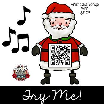 Christmas QR Codes:  Listening Center