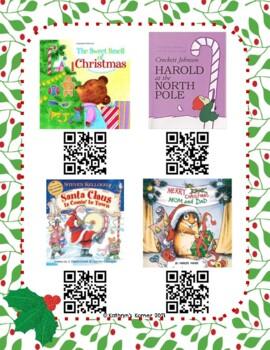 Christmas QR Read-Alouds (Listening Center)