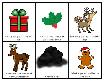 Christmas Question Cards