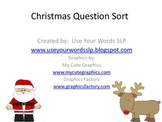 Christmas Question Sort