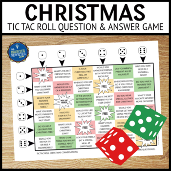 Christmas Questions Game