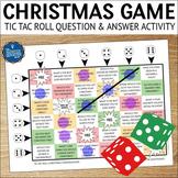 Conversation Starters Christmas Game