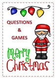 Christmas Questions and games ( colour version)