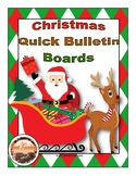 Christmas Quick Bulletin Boards (Decor)