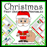 Christmas No Prep Common Core Math (1st grade)
