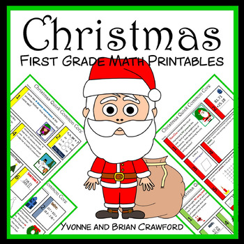 Christmas No Prep Common Core Math (1st grade)