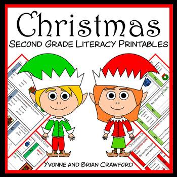 Christmas No Prep Common Core Literacy (2nd grade)