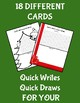 Christmas Quick Write/Draw
