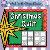 Christmas Nativity Quilt ~ The birth of Jesus