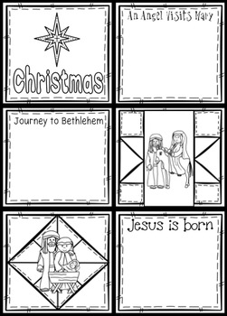Christmas Nativity Quilt ~ for Juniors ~ The birth of Jesus
