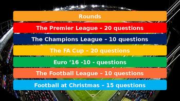 Christmas Quiz: Football 2016