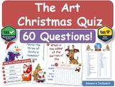Christmas Quiz (For Art Classes)