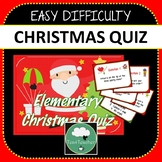 Christmas Quiz Powerpoint with Answers 5 Rounds Easy Level