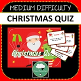 Christmas Quiz Powerpoint with Answers 5 Rounds Medium Level