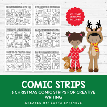 Christmas Quotation Marks Comic Strips