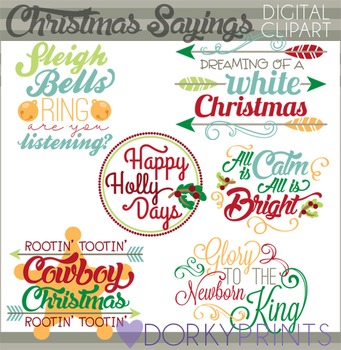 Christmas Quotes Clip Art
