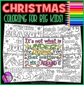 christmas coloring pages sheets christmas doodle quote coloring pages