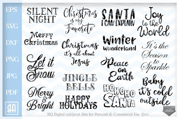 Christmas Quotes Svg.Christmas Quotes Bundle Svg Christmas Sayings Bundle Svg