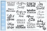 Christmas Quotes bundle svg, Christmas Sayings Bundle SVG