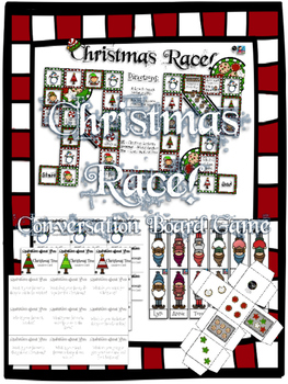 Christmas Race!  A Fun Speaking Game