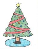 Christmas Ratio Coloring Sheet