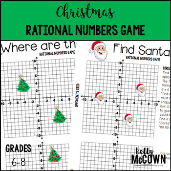 Christmas Rational Numbers Game