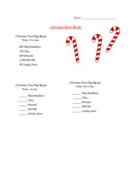 Christmas Ratios