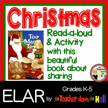 Christmas Read-A-Loud and No Prep Activity