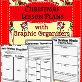 Christmas Read Aloud Lesson Plans with Graphic Organizers