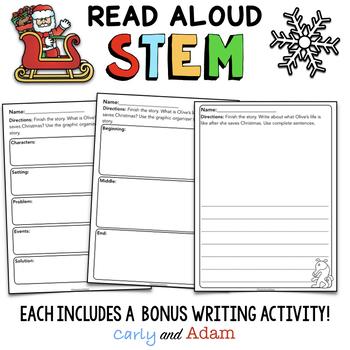 Christmas Read Alouds STEM Activities BUNDLE