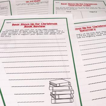 Christmas Read Aloud Series: Bear Stays Up for Christmas
